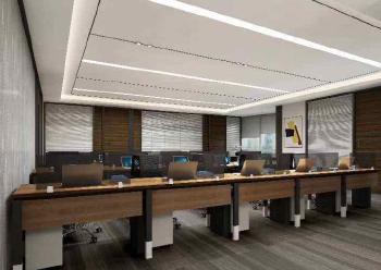 国际西岸商务大厦精装写字楼 212平米 拎包入住图片1