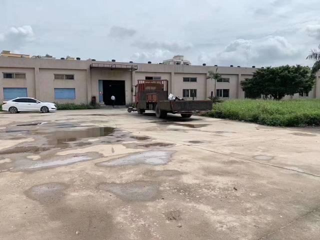 惠州市带超大空地独院钢构3000平出租