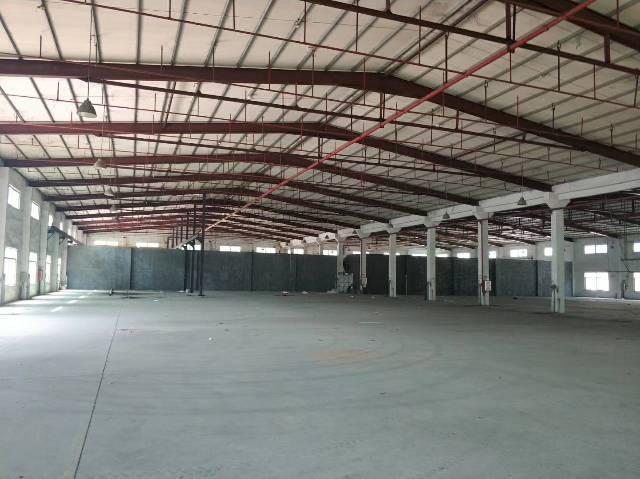 惠州市沥林高速出口原房东钢构厂房1700平米 滴水7米,