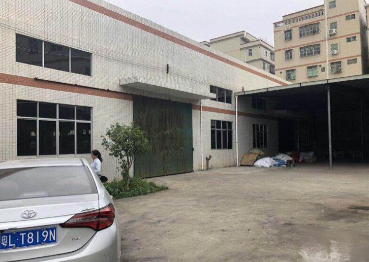 博罗独栋厂房1500宿舍四百平招租
