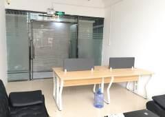 龙华汽车站精装办公室带全套家私卡座面积50平2600打包出租