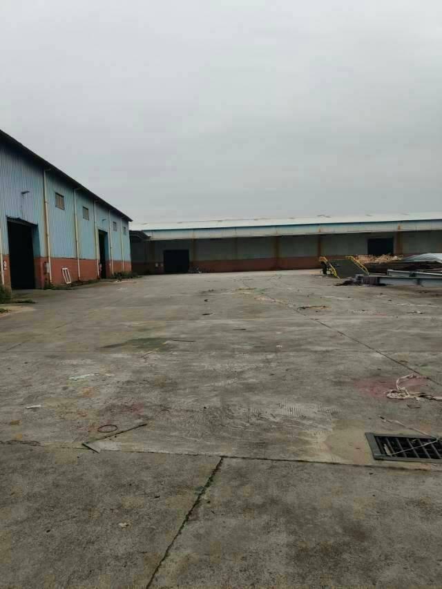厚街镇第二工业区新出6500平钢构仓库出租,形象好