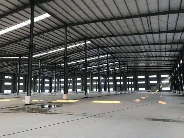 万江原房东独院单一层钢结构3000平方厂房,滴水7米