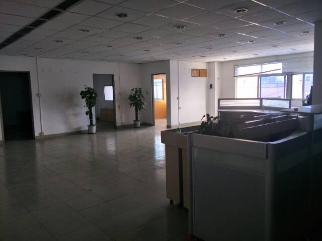 凤岗雁田新出楼上精装修办公室和仓库500平带3间宿舍