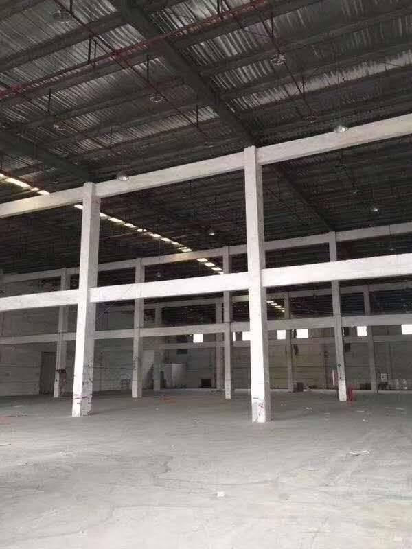 广州黄埔区带高台十米高物流仓库出租2980平价格30