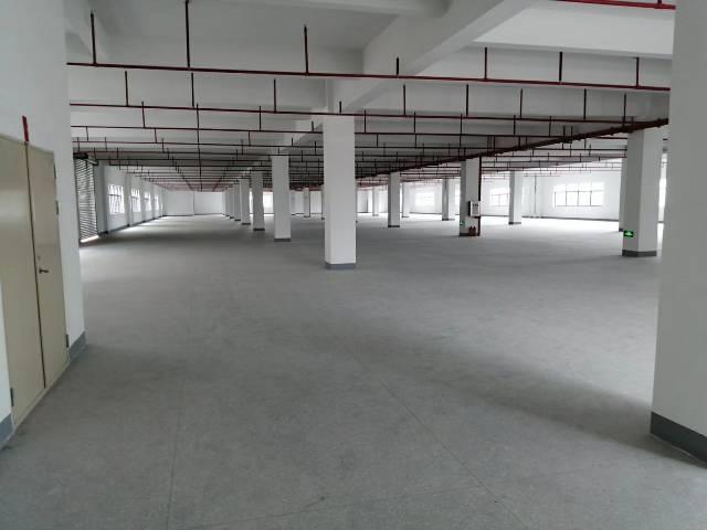 惠州镇隆高田工业区厂房分租楼上3800㎡