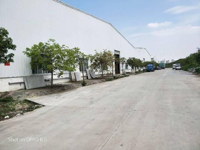 东莞市虎门镇环莞快速路边滴水9米钢构6000平方适合做仓库