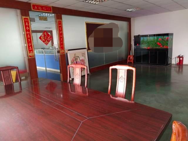 深圳市光明新区单层面积一楼5米带精装修750平米厂房出招租!