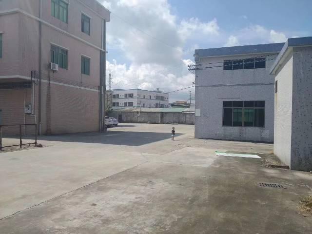 花都区秀全成熟工业区单一层钢构独院7千平米空地超大证件齐全