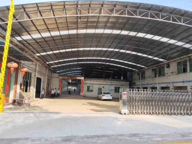 钟落潭新出独院单一层钢构厂房仓库出租,证件齐全可办环评。