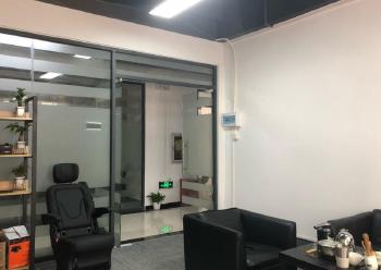 宝安小型创业基地 宏域易创空间 190m² 带装修图片1