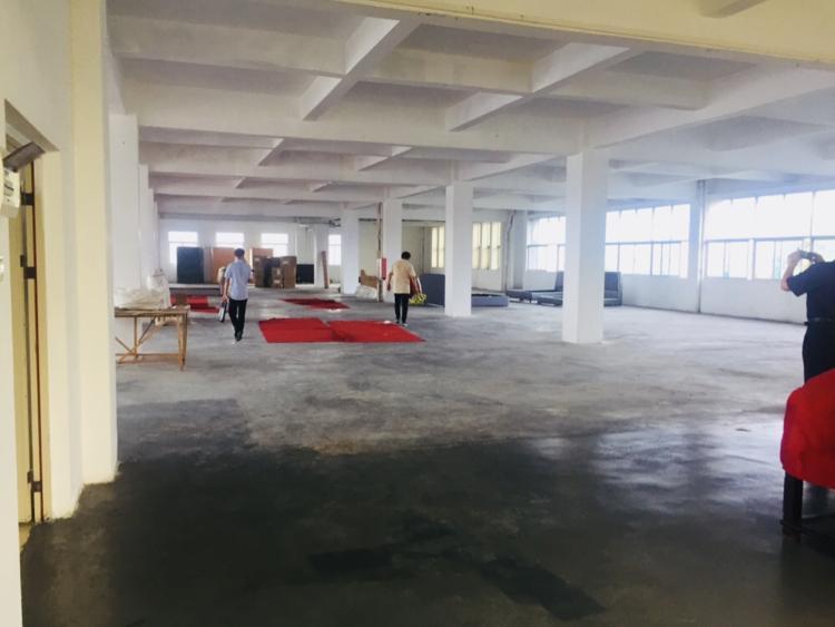 惠阳沙田高速路口新出楼上1200平实际面积出租有现成家具环评