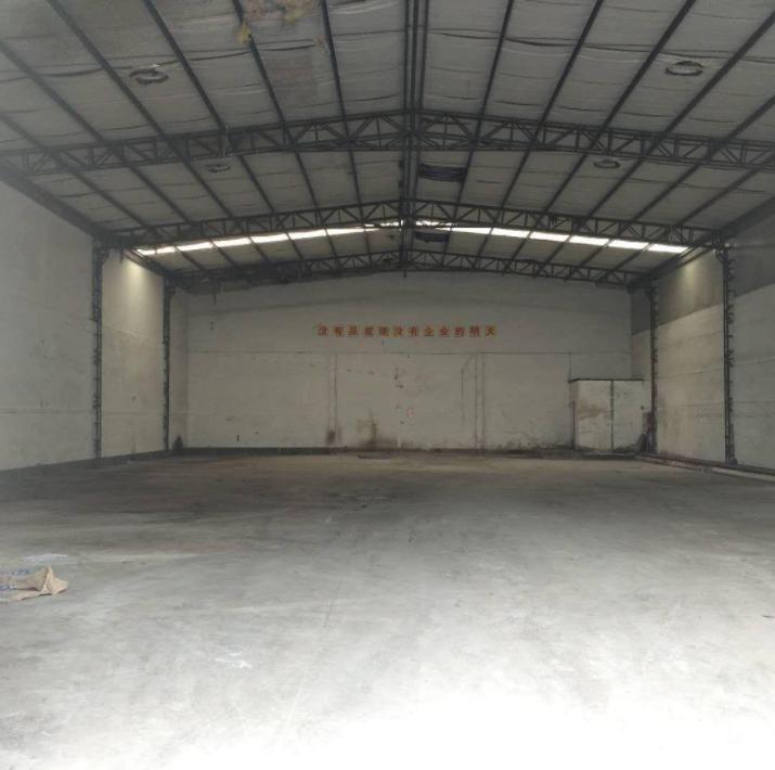 塘厦镇新空出一楼700平钢构厂房出租仓库出租8米高
