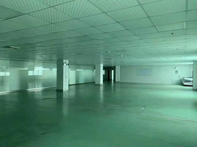 公明新出2楼2000平方无尘车间,办公室精装修水电到位,