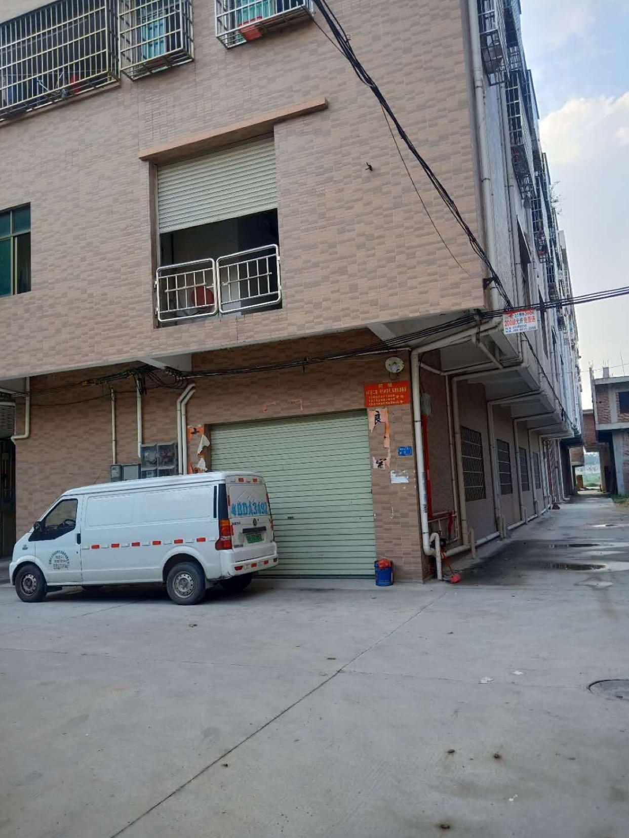 原房东厂房出租,一楼300平2楼400