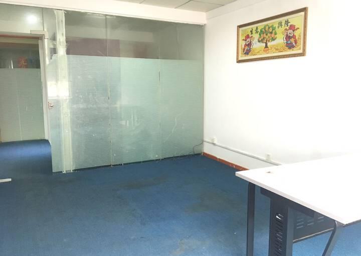 西乡地铁口  70平方米带装修共享办公写字楼招租图片1