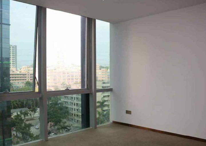 宝安区深业U中心写字楼 385m² 户型正图片1