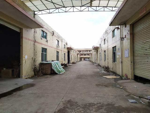 惠州惠阳秋长独门独院钢构厂房3200平可做污染行业