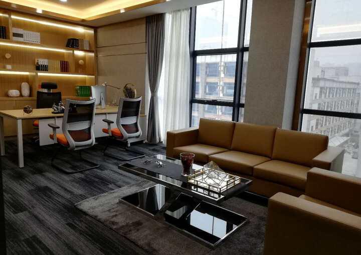 宝安西乡恒丰工业城 写字楼109m² 低楼层区带装修图片1