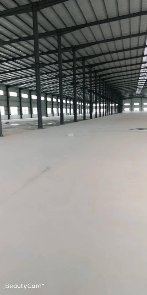 广州增城新出原房东10万平方单一层9米钢构厂房可分租