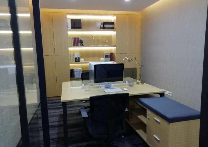11号线碧海湾地铁口161m²精装修写字楼出租图片2