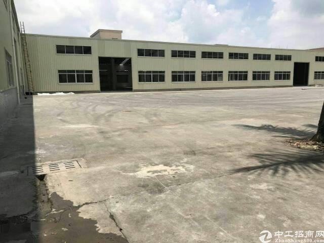 东莞新建刚构独院厂房3500平出售,滴水8米