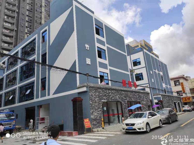 龙华鹊山路口出全新红本厂房2万平工2栋带装修200平起分
