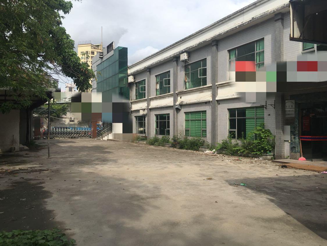 东莞长安沙头新出双层小独院村委房,空地1500平,水电齐全。