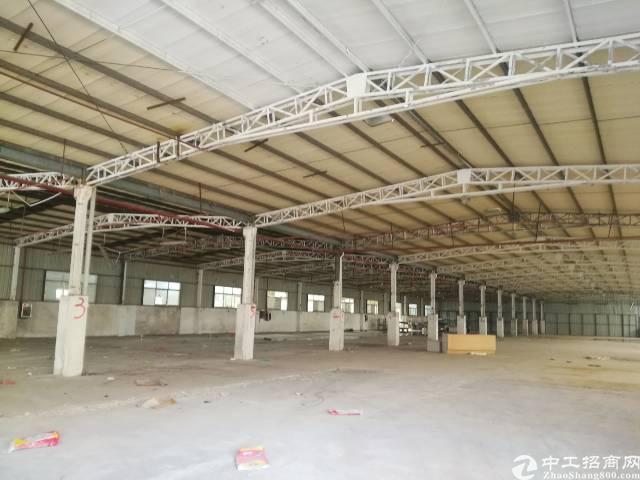 塘厦镇高裕南路新出独门独院钢结构出租整面积4000平方