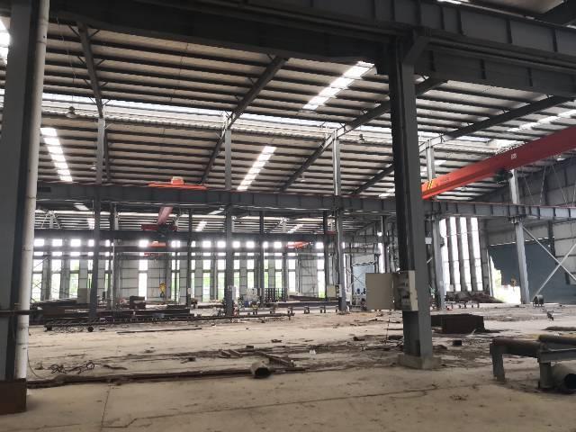 喷塑喷涂喷漆单层钢结构厂房开发商直售,50年产权