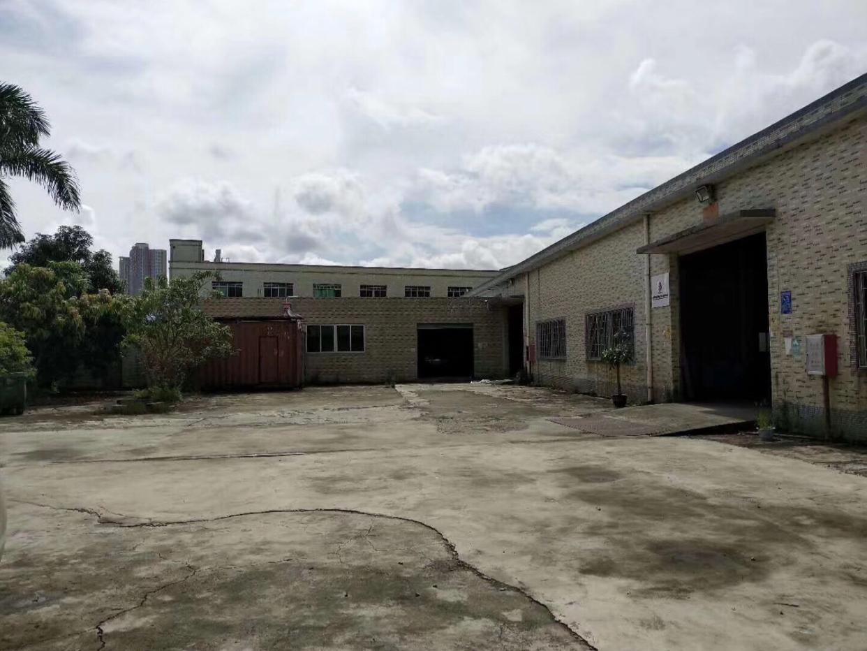 平湖机荷高速华南城出口800米新出独院钢构2800平