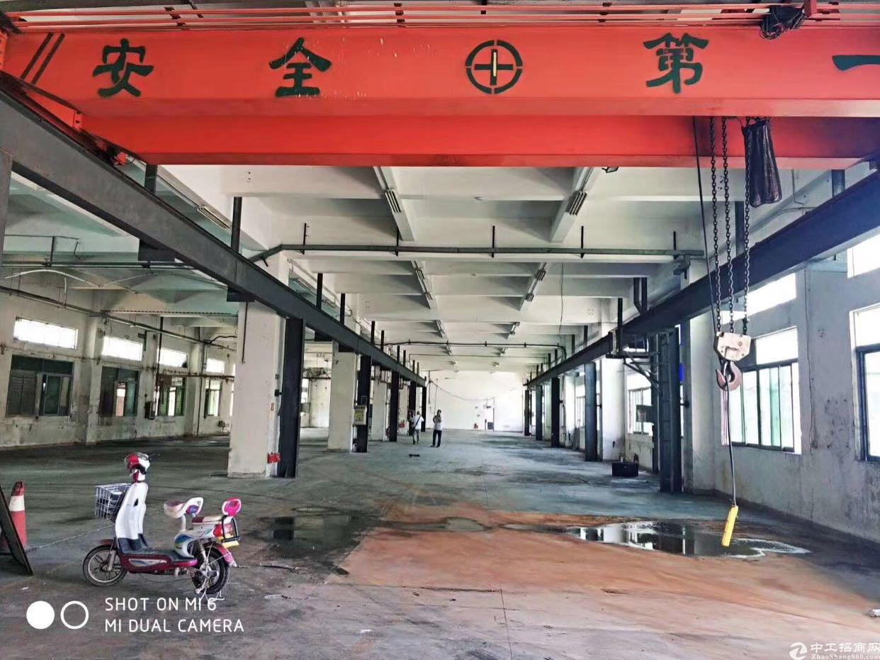 茶山新出带行车一楼厂房1080平