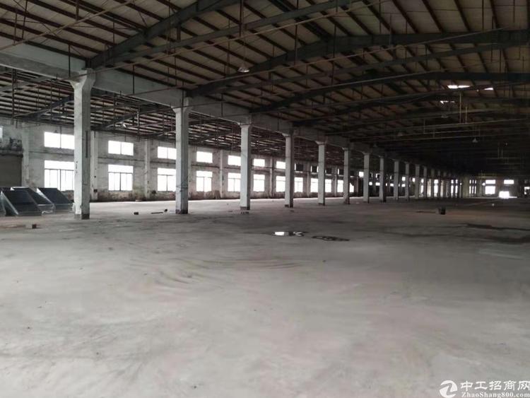 东莞清溪新出标准物流仓库2万平带卸货平台厂房出租
