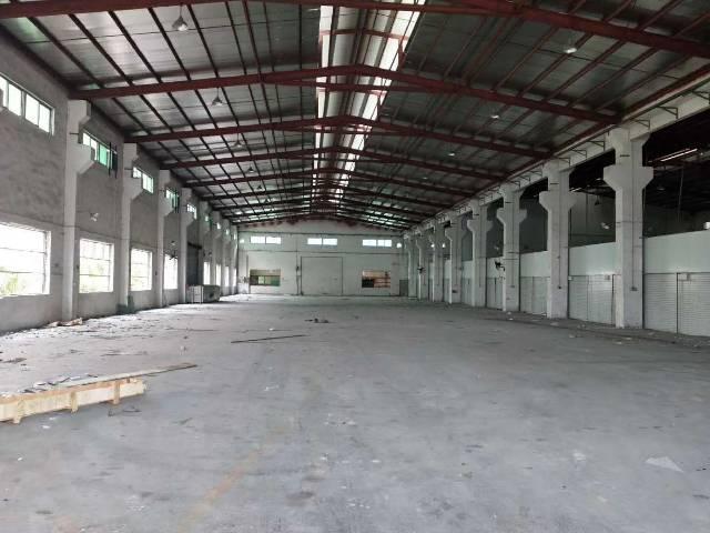黄江镇靠深圳方面新出原房东单一层钢构2500平滴水12米