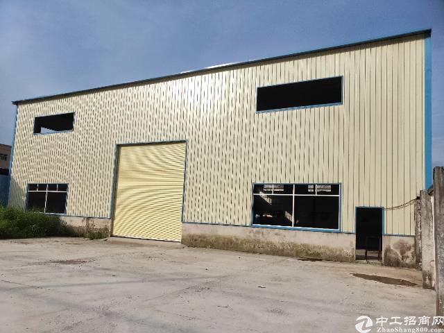 石排单一层全新厂房1600平方招租。