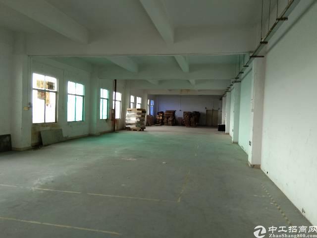 龙岗中心城附近五联龙西楼上标准厂房带装修办公室出租1200㎡