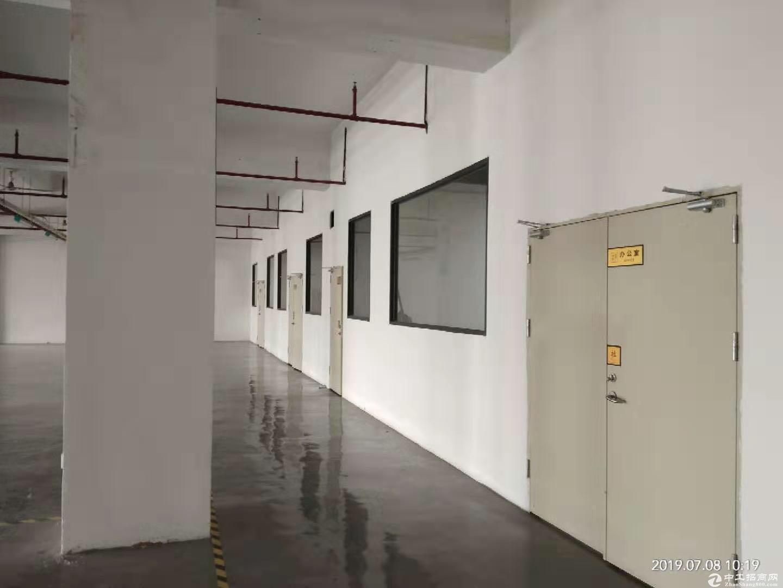 厚街镇桥头村第三工业区一楼2700平厂房仓库出租带卸货平台空