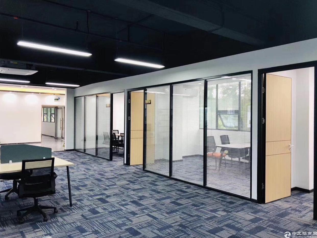 坪山大道边230平米精装修办公室出租