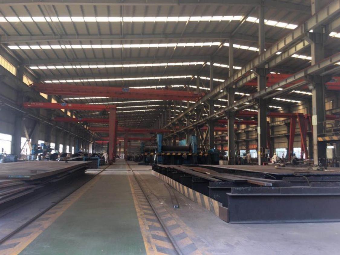 10米高独院钢构厂房出租