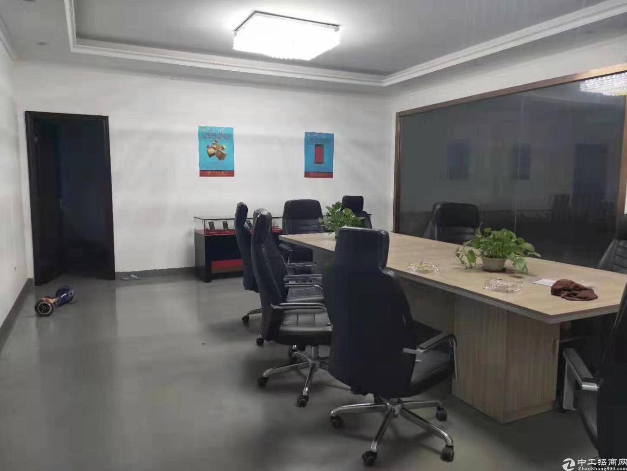 碧岭新出3楼466平米带装修厂房出租(可办环评)