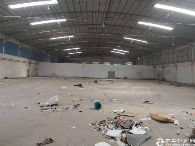 石壁工业区独院2100平厂房仓库出租,主体消防