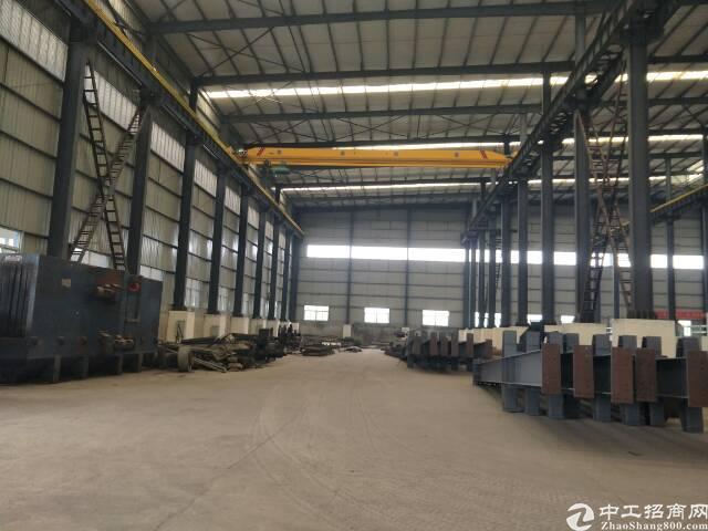 黄陂厂房12000平米,带行车32吨,配套办公食堂,可分租