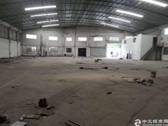番禺大石东联工业区1200平独院厂房仓库出租