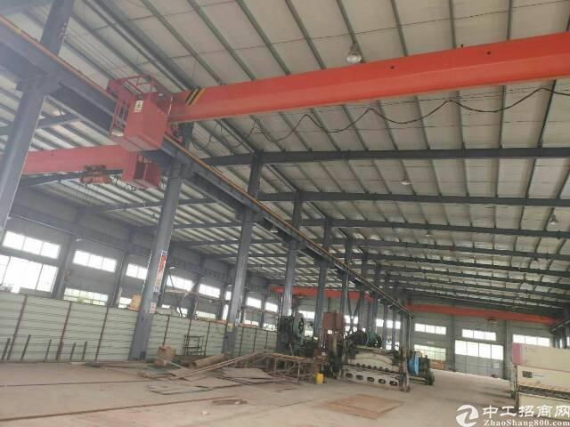 黄陂李集厂房6000平米,带行车10吨,配套办公食堂,可分租