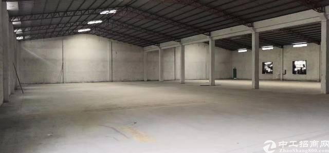 石湾原房东新建砖墙到顶单一层钢构厂房出租