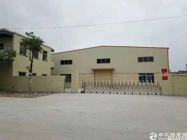 新出独院单一层钢构厂房34200平