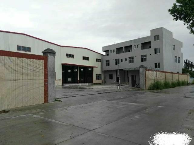 樟木头5000平独门独院钢构厂房,电大,可分租,环评可办