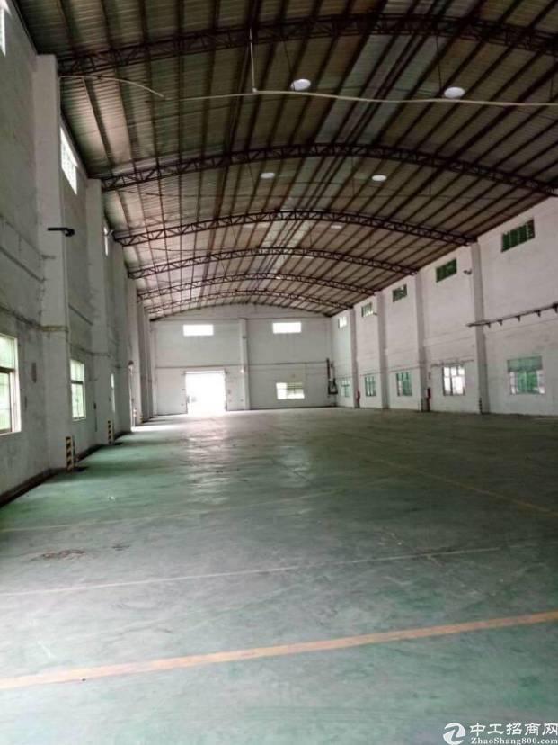 广州天河钢结构厂房,带宿舍办公楼厂房中间没柱子2800平