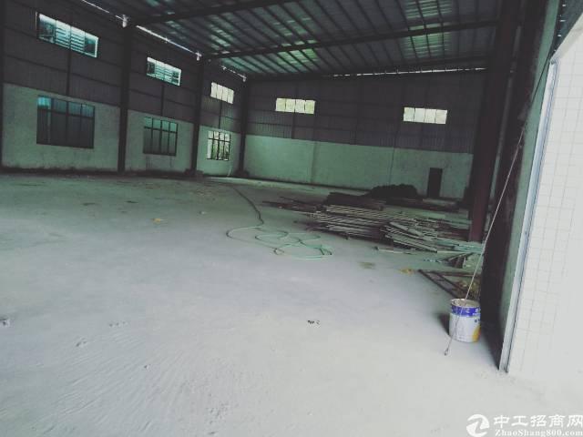 惠州市博罗县新出独门独院钢构厂房出租3800-图3