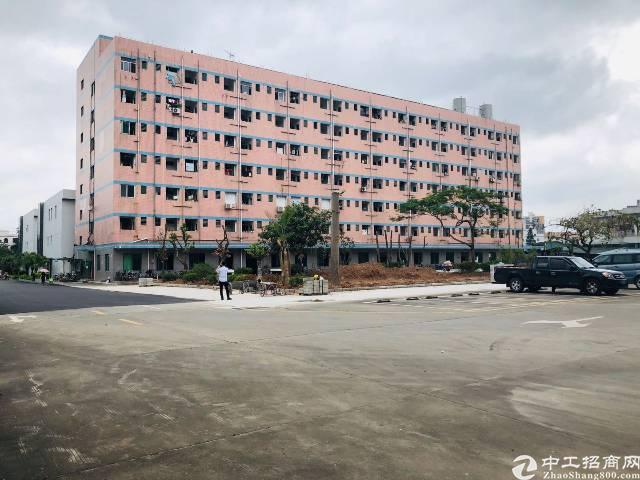 横岗地铁站附近标准厂房二楼3000平原房东红本厂房招租